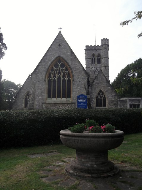 St John the Evangelist, Old Church Lane, Stanmore