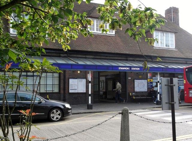 Entrance, Stanmore Underground Station