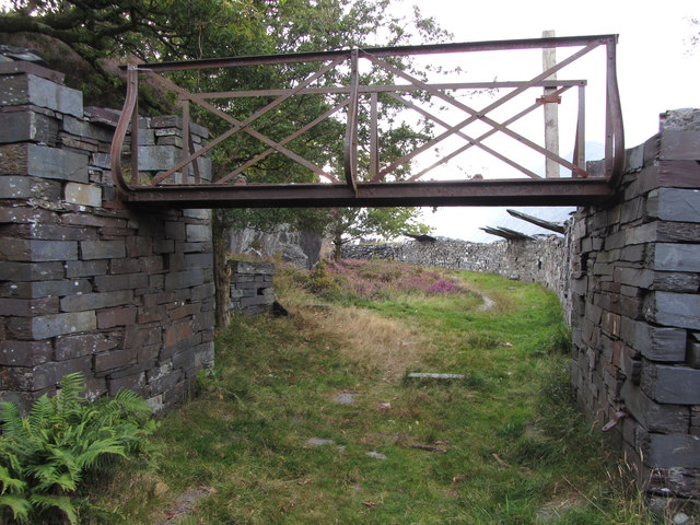 Footbridge in Dinorwic Quarry