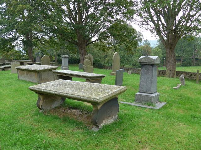 St Peter, Addingham: churchyard (a)