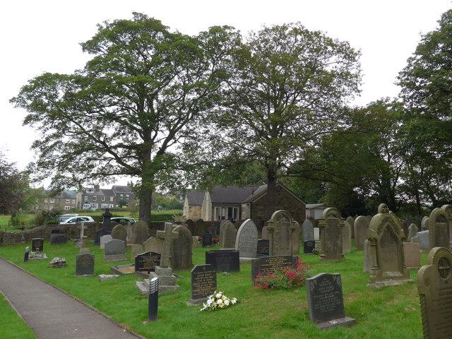 St Peter, Addingham: churchyard (b)