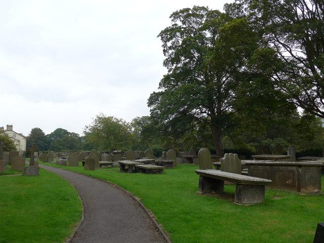 St Peter, Addingham: churchyard (c)