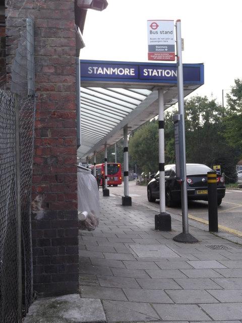 Bus stand, Stanmore Underground Station