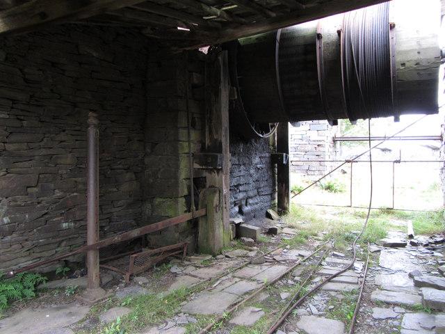 A2 incline drum house, Dinorwic Quarry