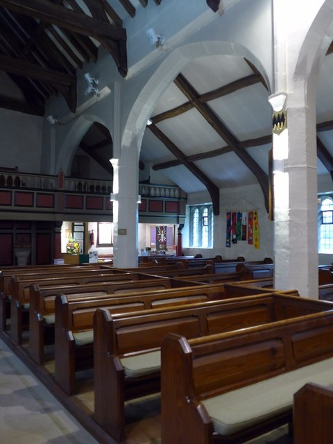 Inside St Peter, Addingham (C)