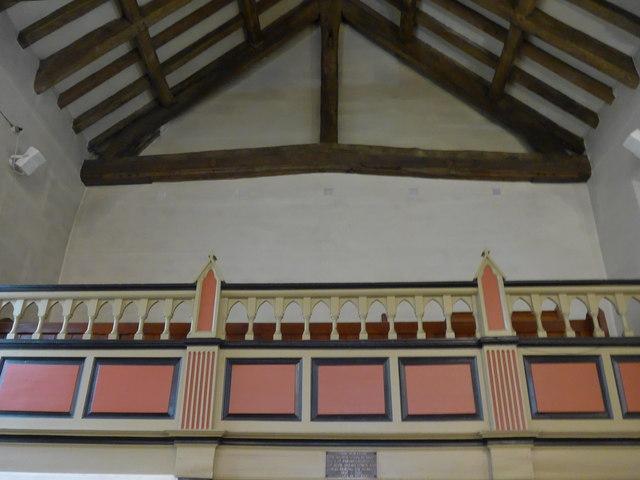 Inside St Peter, Addingham (D)
