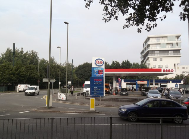 Esso Petrol Station, Marsh Lane, Edgware
