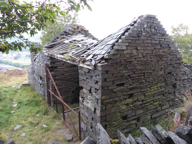 A2 incline drum house, Dinorwic Quarry