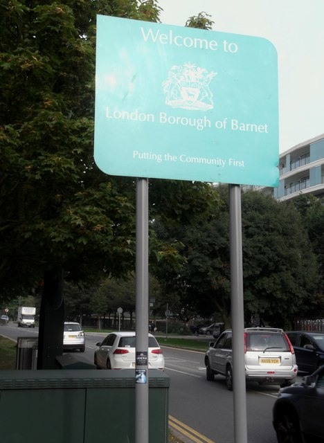 Welcome to Barnet, Spur Road, Edgware