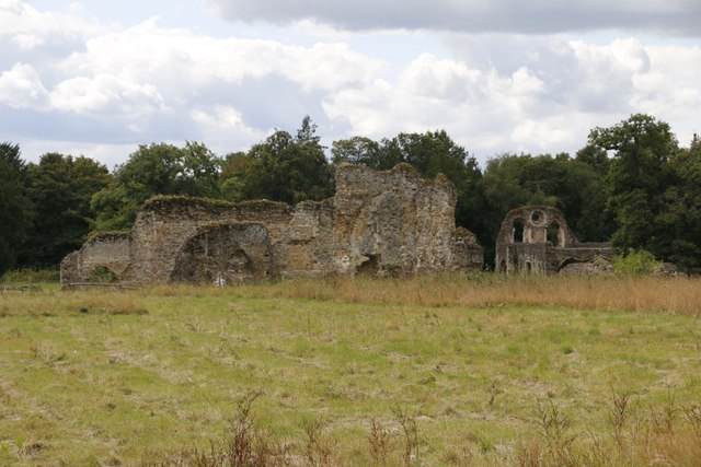 Waverley Abbey Remains