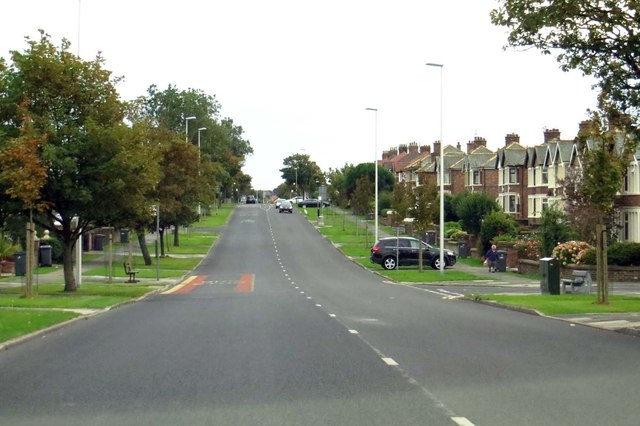 Devonshire Road into Blackpool