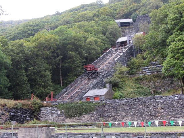 Restored Vivian Quarry Incline