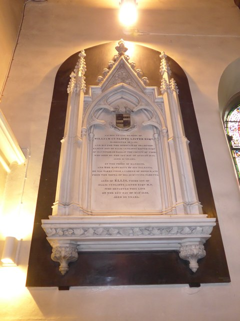 St Peter, Addingham: memorial (XXII)
