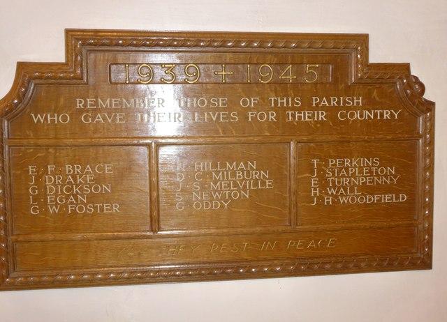 St Peter, Addingham: memorial (XXIII)
