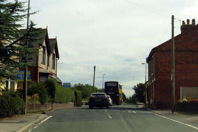 Park Lane through Preesall