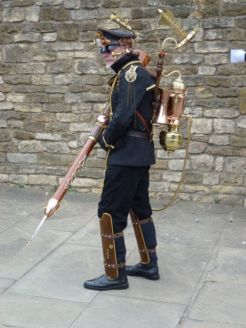 Steampunk festival in Lincoln 2014 - Photo 43