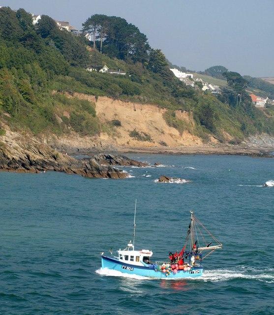 Fishing boat, Looe