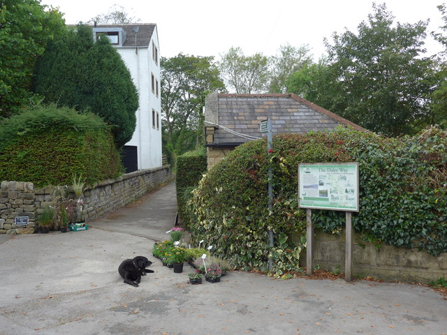 Doggone it: start of The Dales Way