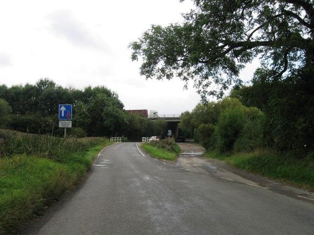 Bridge or ford