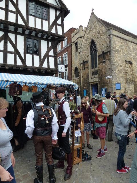 Steampunk festival in Lincoln 2014 - Photo 47