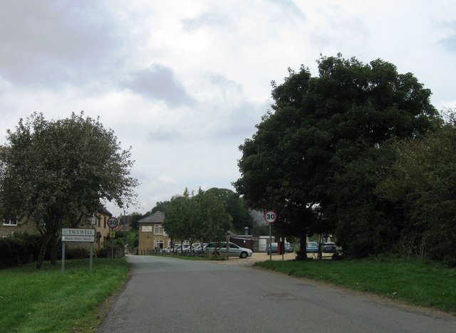 Entrance to Twywell