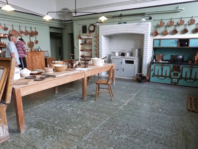 Victorian kitchen, Stansted House