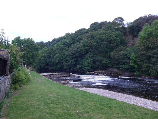 Weir at Lower Mill Village
