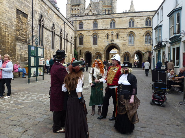 Steampunk festival in Lincoln 2014 - Photo 49