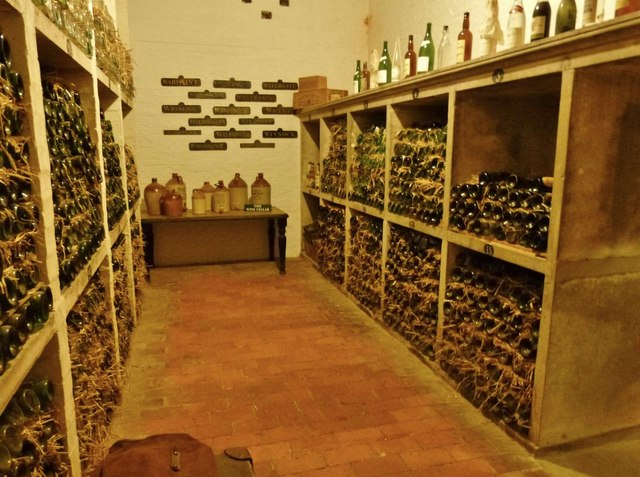 The wine cellar, Stansted House