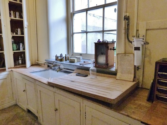 The Kitchen sink at Stansted House