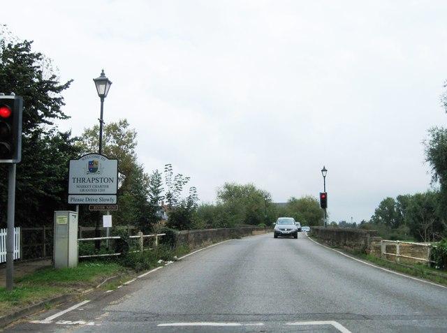 Entrance to Thrapston