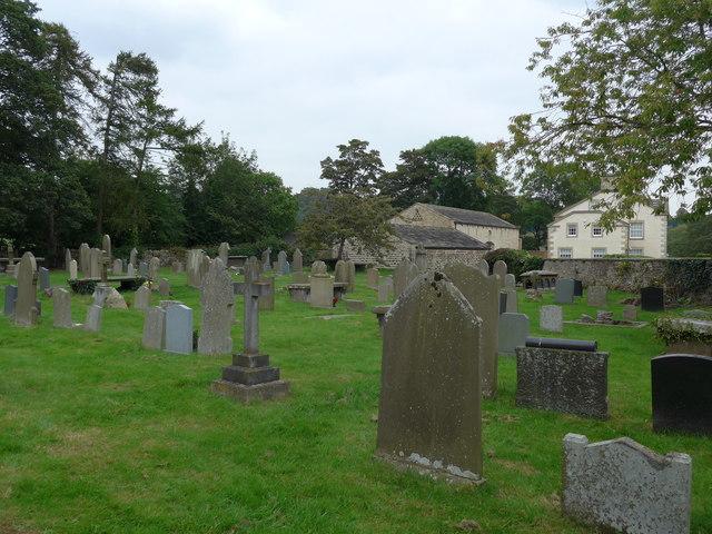 St Peter, Addingham: churchyard (e)