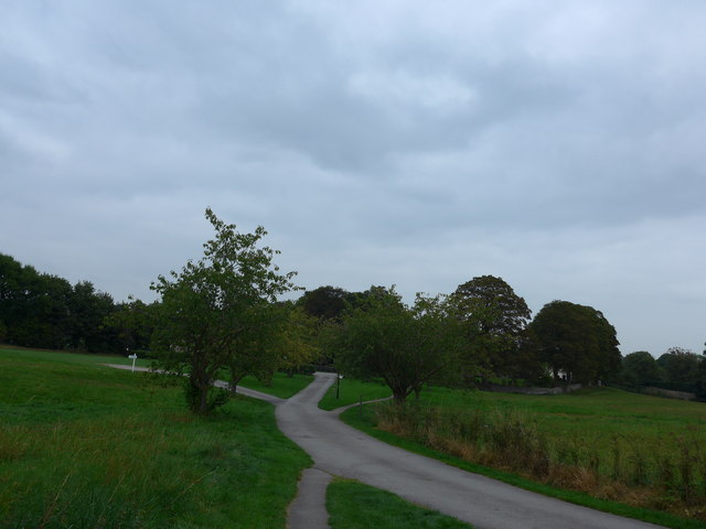 Addingham: looking back towards St Peter's