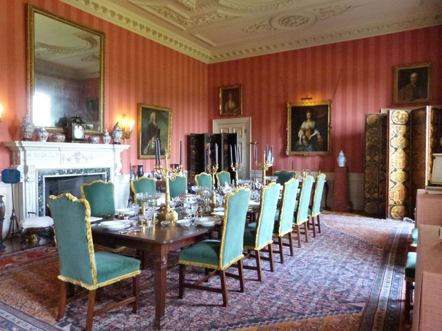 Interior of Stansted House, West Sussex