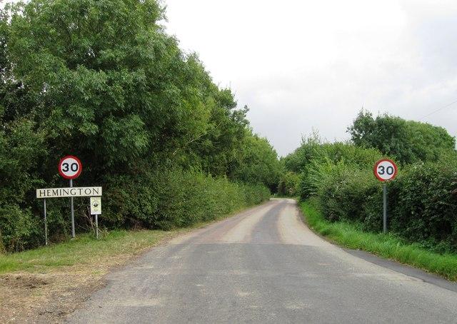 Entrance to Hemington