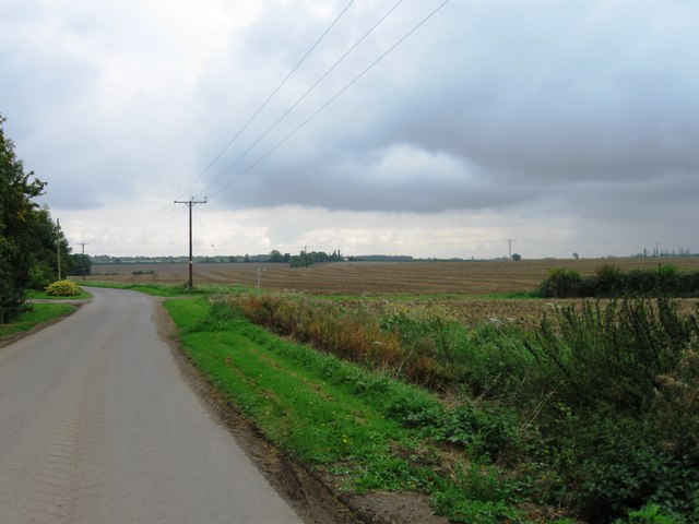 Road south of Hemington Lodge