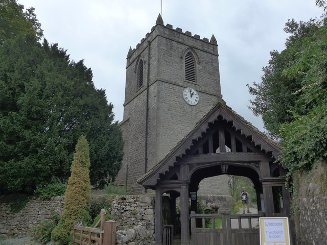 St. Mary, Kettlewell: September 2014