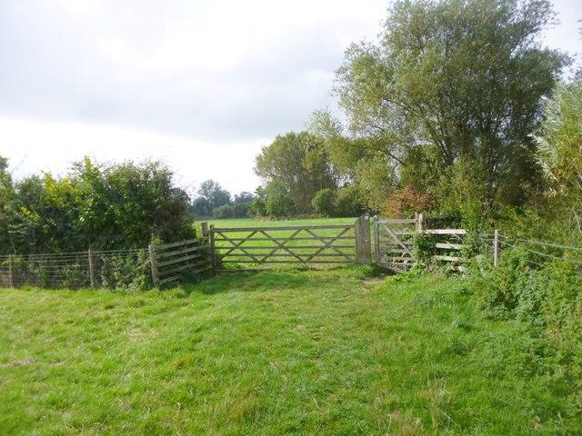 Upper Heyford, gates