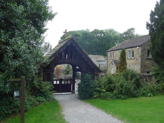 St. Mary, Kettlewell: lych gate