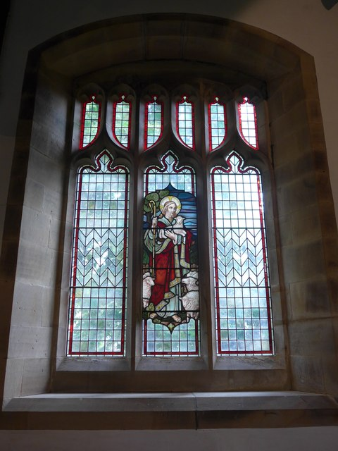 St. Mary, Kettlewell: stained glass window (c)