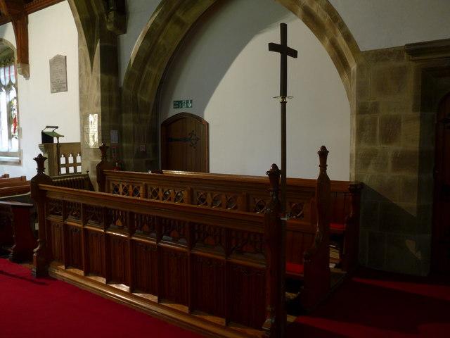 St. Mary, Kettlewell: choir stalls