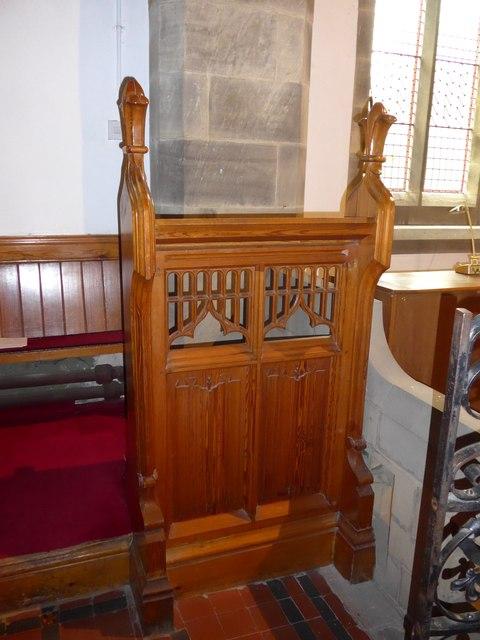 St. Mary, Kettlewell: prayer desk