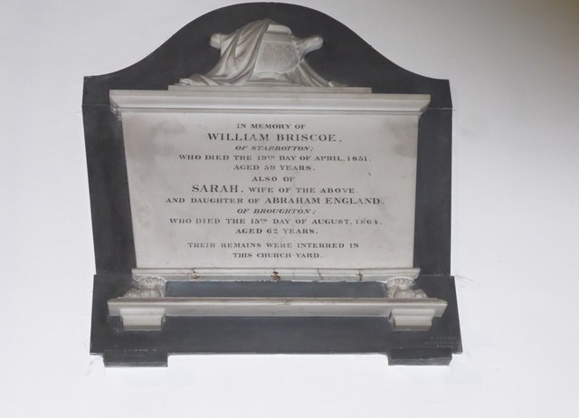 St. Mary, Kettlewell: memorial (II)