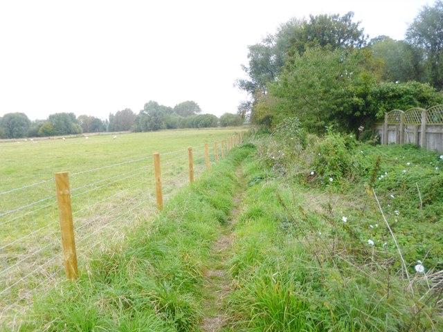 Nether Heyford, footpath