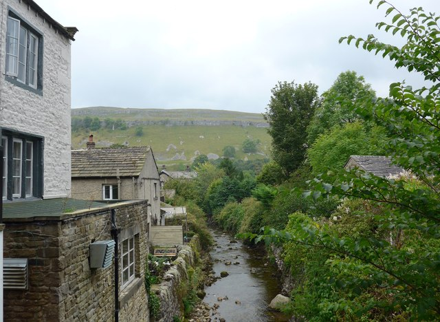 Looking west-southwest along Kettlewell Beck
