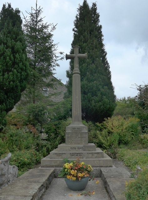 War memorial, Kettlewell