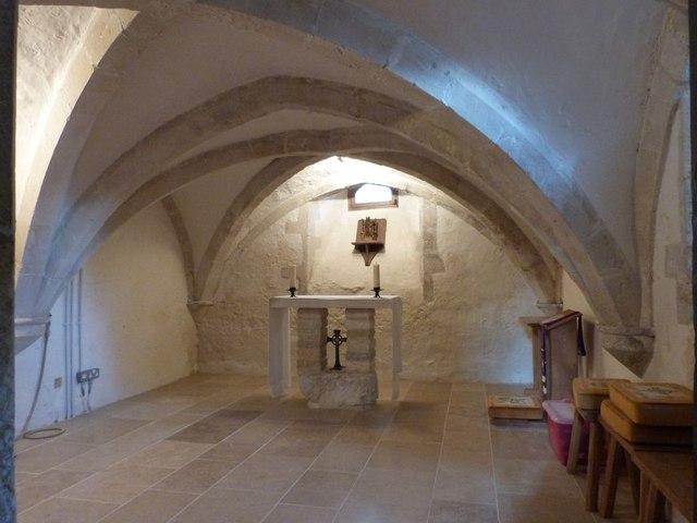 The Chapel in the Crypt, Bosham parish church