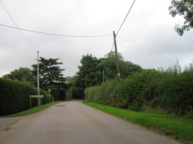 Entrance to Haselbech