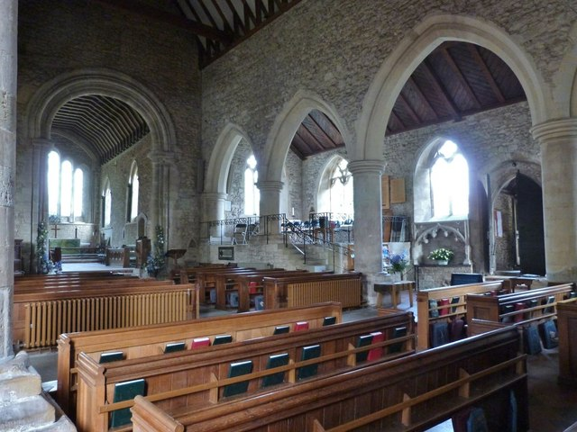 The Saxon, Norman and Gothic Nave, Bosham Parish Church