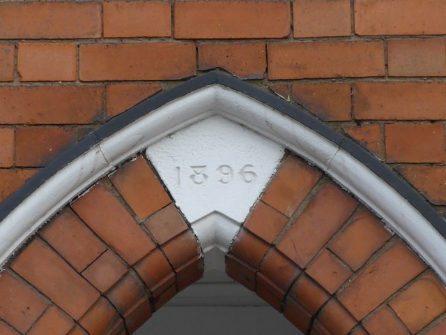 Datestone on a terrace in Toothill Road
